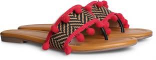 Bata Women Pink Flats