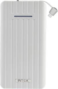 Intex 10000 Power Bank It Pb10k Poly 02 Multi Cable 10000 Mah