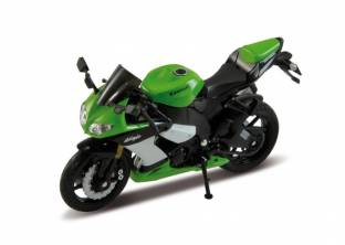 Welly Moter Cycle-1:18-2009 KAWASAKI NINJA ZX-10R 12167PW