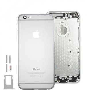 buy popular 75547 f6e00 eShop24x7 Apple iPhone 6S Space Grey Replacement Housing Body Back ...