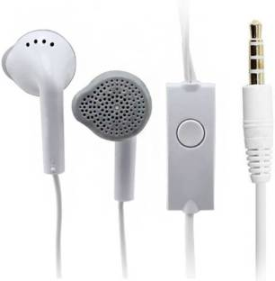 GOOD FRIENDS Classic Wired Headset (White, In the Ear) Wired Headset