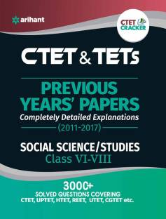 Ctet & Tets Previous Year' Solved Papers Social Sciences/Studies Class vi-VIII