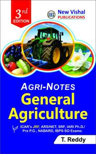 Agri-Notes : General Agriculture for ICAR's JRF, ARS/NET, SRF, IARI Ph. D/President P. G., NABARD, IBPS-SO Exams