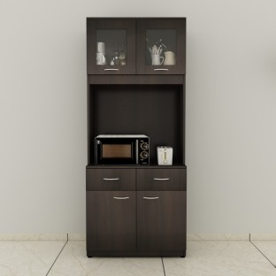 Wonderful Home Full Ben Engineered Wood Crockery Cabinet Amazing Ideas