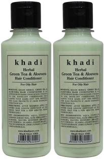 KHADI Herbal Green Tea & Aloevera Hair Conditioner