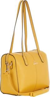 LAVIE - Anushka collection Women Yellow Hand-held Bag