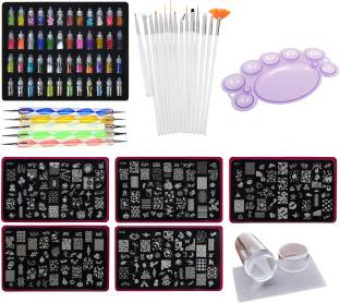 Nail arts kit buy nail arts tools online flipkart lifestyle you mega combo kit of nail art tools 3d nail art nail prinsesfo Images