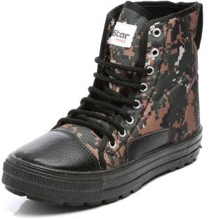 23fd1e55b605 Unistar High Ankle Boots With Extra Grip Boots For Men - Buy Unistar ...