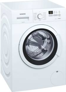 Siemens 7 kg Fully Automatic Front Load White