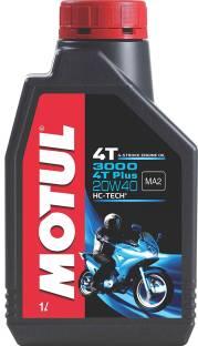 MOTUL 3000 4T Plus 20W40 HC Tech Engine Oil for Bikes Conventional Engine Oil