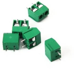 Robokart 2-Pin Plug-in Screw Terminal Block Connector 5mm Pitch