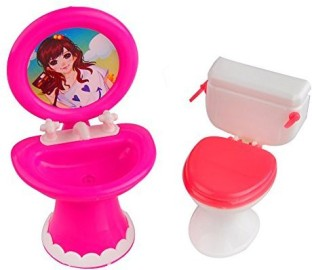 1:12 Dollhouse Miniatures Cute Mini Razor Suit Bathroom Accessories Toys XB