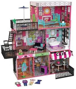 Kidkraft So Chic Dollhouse With Furniture So Chic Dollhouse With