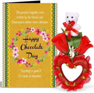 Siddhi gifts im sorry gifts for girlfriend greeting card gift set alwaysgift anything is good if it is made of chocolate day valentines day greeting card with m4hsunfo