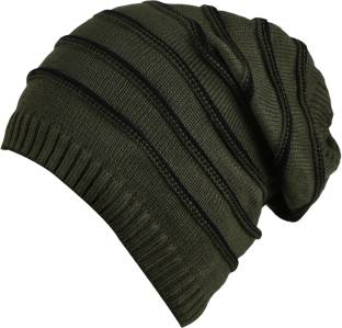 851bfb98462 Self Design Unisex Acrylic Woolen Winter Beanie and Skull Cap for winters  Cap