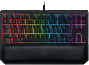 Razer BlackWidow Tournament Edition Chroma V2 Mechanical Yellow Switch Wired USB Gaming Keyboard
