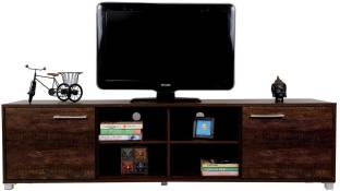 DeckUp Uniti Engineered Wood TV Entertainment Unit   Finish Color   Wenge Matte