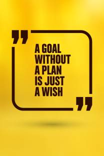 A Goal Without Plan Is Just