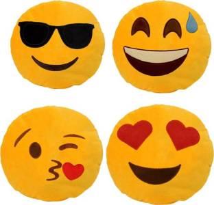 Nitsha Sleepy Emoji, Pillow Decorative Cushion Pack of 1 - Buy