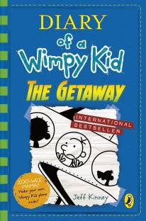 Jeff kinney books buy jeff kinney books online at best prices in diary of a wimpy kid the getaway book 12 solutioingenieria Choice Image