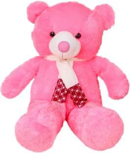 edcd74d922a9 ToynJoy 3.5 Feet Pink Teddy Bear Stuffed Toy as Gift for Valentine s or  Birthday s - 104