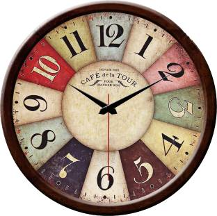 Wall clocks buy wall clocks online at best prices in india yes celebration analog wall clock sciox Images