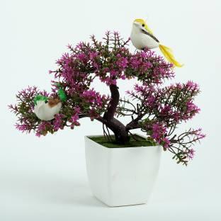 Hyperbole Bonsai Wild Artificial Plant with Pot