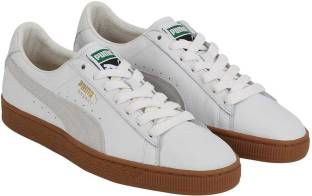 17a66632a66 Puma Basket Classic Gum Deluxe Sneakers For Men - Buy Puma White ...