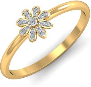 Kalyan Jewellers Moulding Ladies 22kt Yellow Gold ring Price in