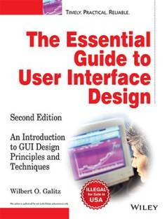The Essential Guide to User Interface Design 2nd Edition