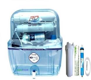 0179e444bbe Aqua Fresh transparent Model 15 L RO + UV + UF + TDS Water Purifier. Add to  Compare