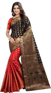Kuki Paisley Banarasi Banarasi Silk Saree