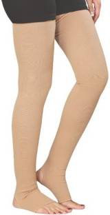 cfd6546240 Kudize Varicose Vein Stocking Compression Thigh Length Knee, Calf & Thigh  Support (S,