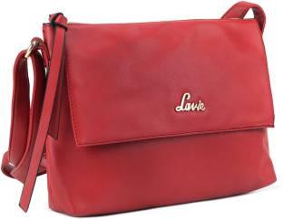 Lavie Women Red PU Sling Bag