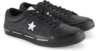 ff2bb52767e2 Converse One Star Ox Sneakers For Men - Buy BLACK WHITE BLACK Color ...