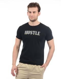 Pepe Jeans Graphic Print Men's Round Neck Black T-Shirt