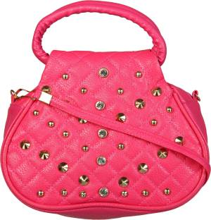 Buy Zara Emporio Hand-held Bag Pink Online @ Best Price in