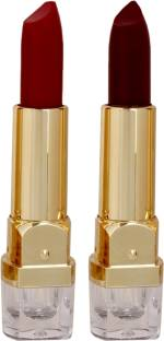 Personi Waterproof Premium lipstick set of 2 ( Maroon and Burgandy color/ shades - B