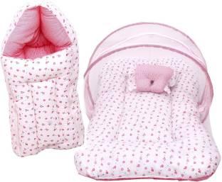 RBC RIYA R baby-101 combo of net bed and sleeping bag crib
