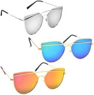 577402f142672 Buy Calvin Klein Cat-eye Sunglasses Blue For Men   Women Online ...