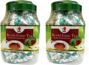 DXN Reishi Gano Tea Herbs Black Tea Plastic Bottle