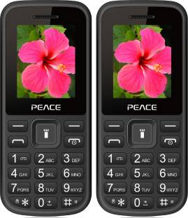 Peace P1 Combo of Two Mobiles