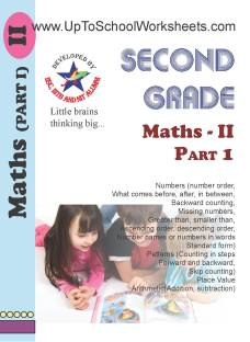 Class 2 Math Worksheets - Part 2 Workbook -CBSE/ICSE-With Answer Key