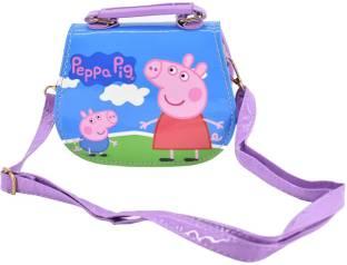 Njazz Peppa Pig Handbags Cute Sling Bag Purse For Kids S Gift 2 5y