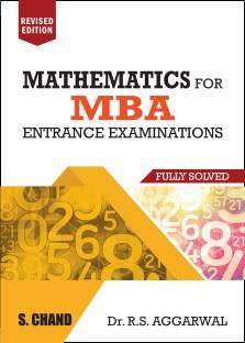 MBA Mathematics for Entrance Examinations (Fully Solved)