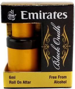 Emirates Black Oudh Floral Attar