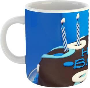 GiftOwl Happy Birthday Chocklate Cake Design Coffee For Of Friends Girlfriend Boyfriend