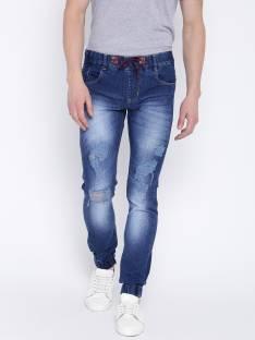 464151e5 Nostrum Jeans Slim Men's Black Jeans - Buy Grey Black- Torn and ...