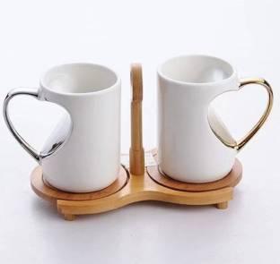 Mayatra\'s Ceramic Cookie Cup With Biscuit Pocket Holder Ceramic Mug ...