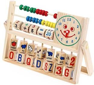 YiGooood Montessori Wooden Balance Beam Weighing Scale